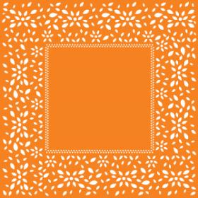 Sheet Artline 60x60cm orange