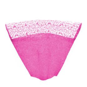 Sleeve Nonwoven Deluxe Top 40x50x19cm pink