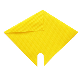 Sleeve Impress Wave 32x32cm yellow