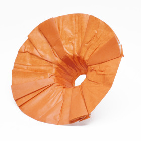 Bouquet holder Kraft 36cm orange