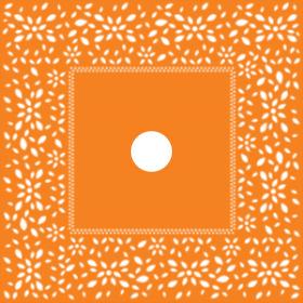 Artline Sheet 24x24in orange H3