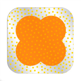 Dots Sheet 24x24 in orange
