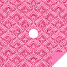 Jasmin 24x24in pink H3