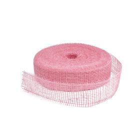 Jute 5cm/40mtr fed Pink 3030