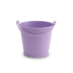 Zinc bucket Breeze ES12 Mauve purple matt