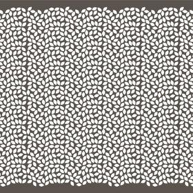 Sheet punched kraft 50x120cm 50g. black/silver