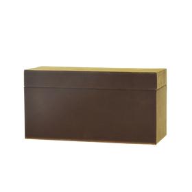 Geschenkdoos Velvet Jewelry 22,5x9,5x11,5cm bruin