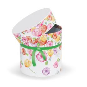 Hatbox Bloomy Ø11x11cm