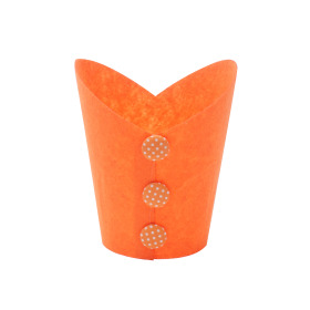 Potcover Buttons ES10.5 orange