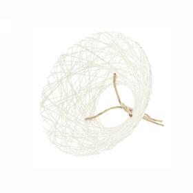 Bouquet holder Paperweb Ø25cm white
