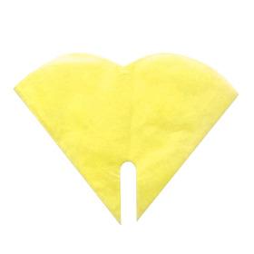 Hoes Doublé Harmony 35x35cm geel