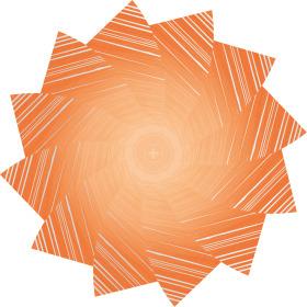 Vel Marvelous Ø80cm oranje