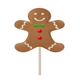xmas Gingerbread Man