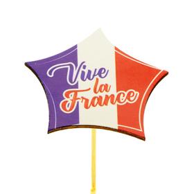 Vive la France 7cm op 50cm stok FSC Mix