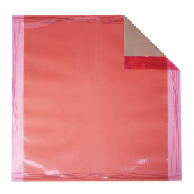 Sheet Chocolate 70x70cm salmon