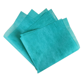 Elegant 20x20in teal blue + 4in x