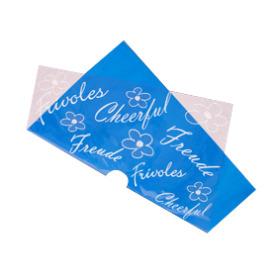 Sheet Frivoles Pre-folded 75x75cm blue