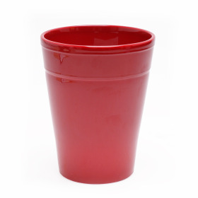 Ceramic Pot Pax ES12 burgundy