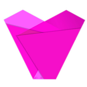 Sleeve Teagan 50x54x15cm pink
