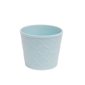 Ceramic Pot Harmony 4 in sea blue
