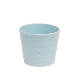 Ceramic Pot Harmony 4in sea blue