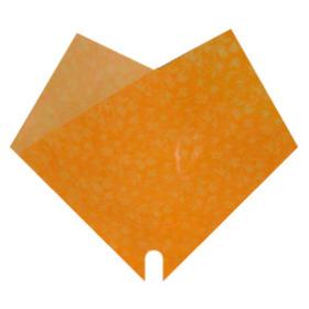 Sleeve Doublé Romance 35x35cm orange