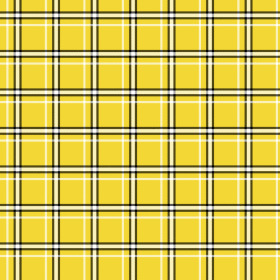 Nonwoven Plaid 20x20 in yellow