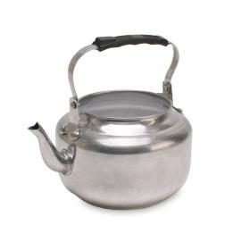 Zinken theepot zilver