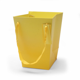 Carrybag Basic 15/15x11/11x20cm yellow
