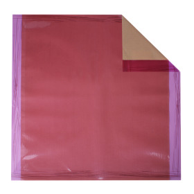 Sheet Chocolate 70x70cm purple