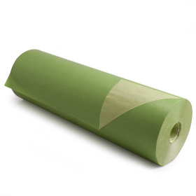 Kilo Brown Kraft 60cm/50g. on roll apple green p/kg