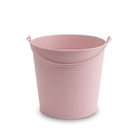 Zinc bucket Breeze ES14 coral blush matt