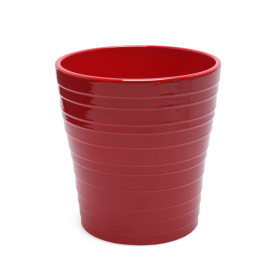 Ceramic Pot Jip ES12 burgundy