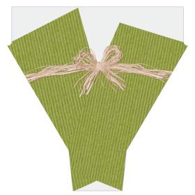 Raff 21x17x5 in green