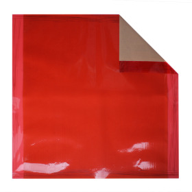 Sheet Chocolate 70x70cm red