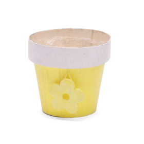Pot Floral Basics 5 in yellow