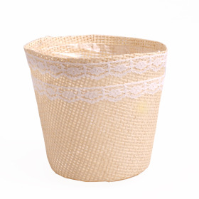 Paperweave Pot 8.5x12x11cm natural