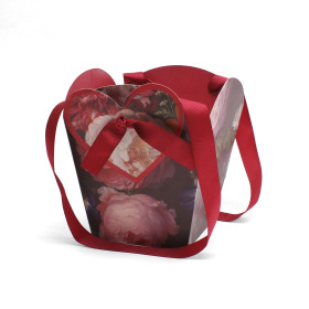 Carrybag Divine Love 17/17x12/12x20cm red
