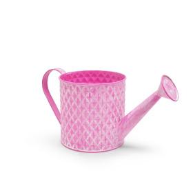 Zink Gieter Diamond Ø14,3 H14cm washed pink