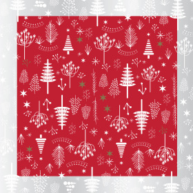 Christmas Favourite 24x24 in red