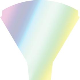 Sleeve Rainbow 50x44x12cm