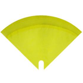 Sleeve Moon Glossy 35x35cm yellow