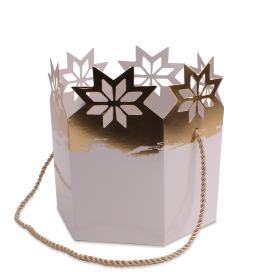 Magic Christmas Ø15cmx17.5cm white