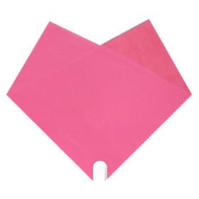 Hoes Doublé Uni 40x40cm roze