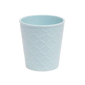 Ceramic Pot Harmony 6 in sea blue matte