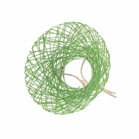 Bouquet holder Paperweb Ø25cm green