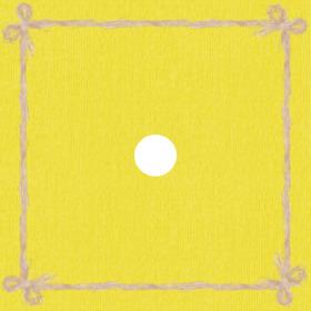 Raff 24x24in yellow H3