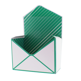 Envelope For You 18x9.5x13cm green