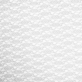 LACE WHITE 20X28 IN + HOLE