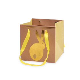 Carrybag Bunny Hop 6x6x6 in yellow